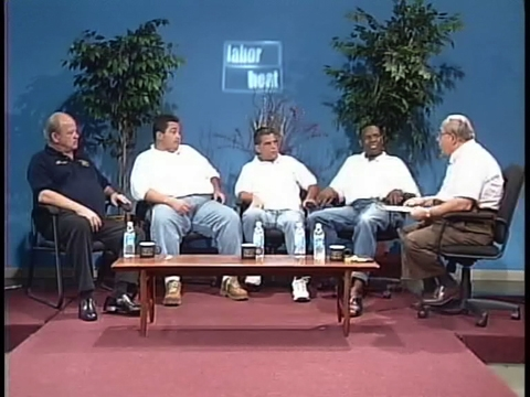 Local 726  FFTF Slate studio discussion.  Photo1:  Labor Beat.