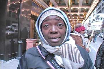Palmer House Hilton housekeeper Joyce Maxwell. Photo: Labor Beat.