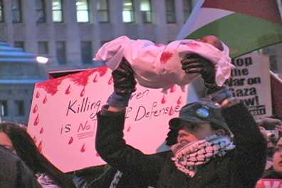 Chicago Jan. 9 protest against siege of Gaza