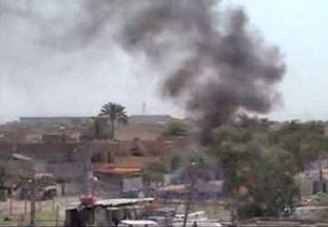Scene from the Bombing of Sadr City